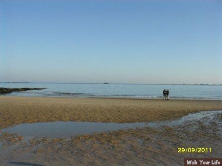 dag 1 even naar het strand
