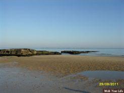 dag 1 het strand van arromanches