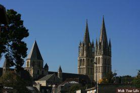 dag 2 cathedraal in caen
