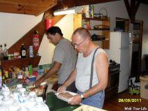 de kookploeg is weer bezig