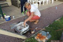 Dag 3 Vis van Urk gebakken door een Urker wat wil je nog meer