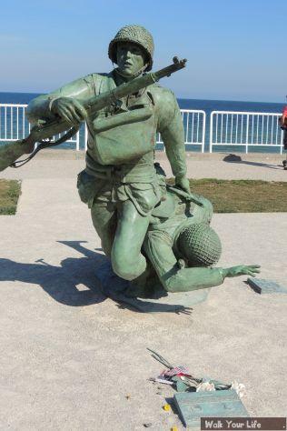 Dag 4 Beeld op Omaha Beach