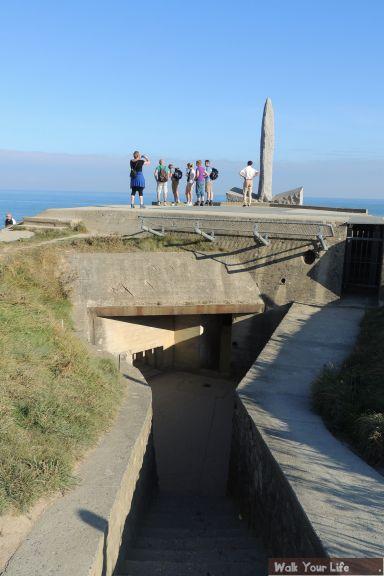 Dag 4 Bij de bunker en het gedenkteken