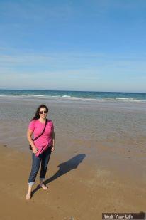 Dag 4 Ximena op Omaha Beach