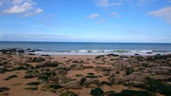 dag 1 - langs het strand