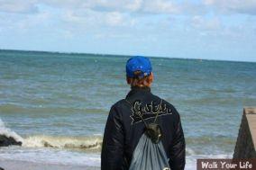 dag 1 luut langs de zee