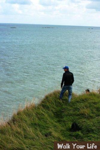 dag 1 luut overziet het strand