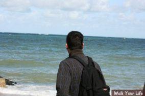 dag 1 simon langs de zee