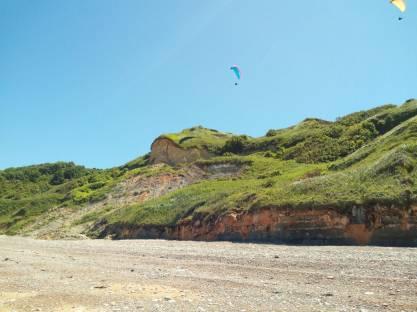 dag 1 - vliegen langs het strand