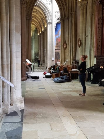 dag 2 - bezoekje aan kathedraal bayeux