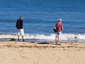 dag 2 - de zee blijft boeien