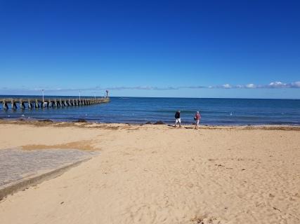 dag 2 - jan en geja langs het strand