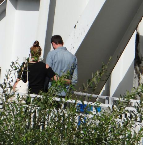 dag 2 - tim en babette komen over de brug