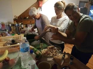 dag 3 - alle hens aan kok