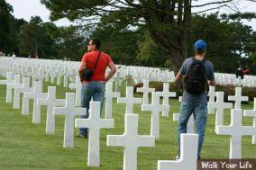 dag 3 indrukken op doen op het amerikaans kerkhof
