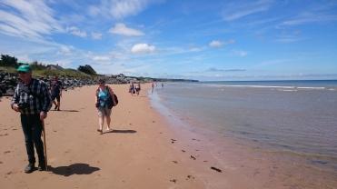 dag 3 - langs het strand