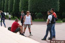 dag 3 ontmoeting op het amerikaans kerkhof