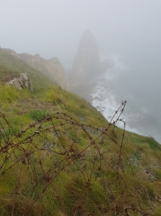 dag 3 - point du hoc in de mist