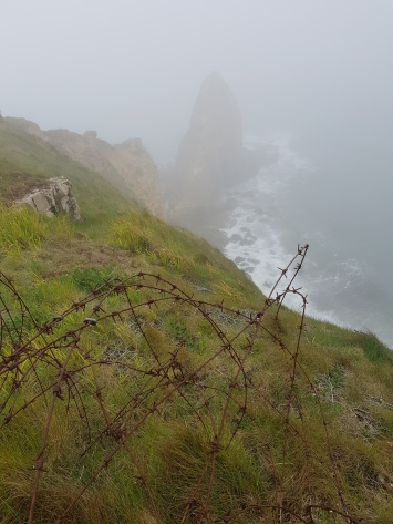 dag 3 - point du hoc in de mist