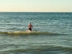 dag 3 - voor dat we teruggaan wil ik gezwommen hebben