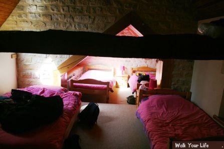 en van de slaapkamers