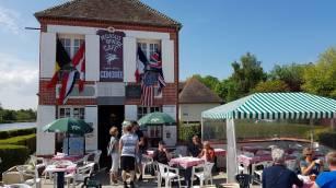 Café Gondrée bij Pegasus bridge museum