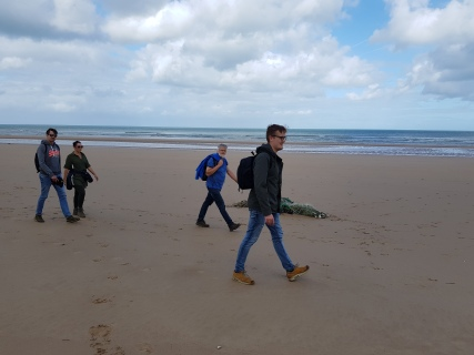 Dag 3 - onderweg over Omaha Beach